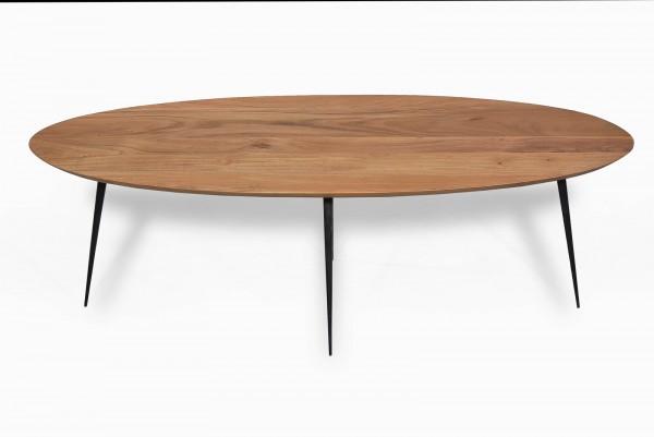 Massivholz Couchtisch 150x45x60cm Akazie