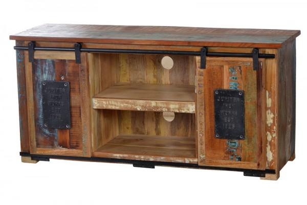 Vintage Möbel Lowboard Massiv 130x63x40cm