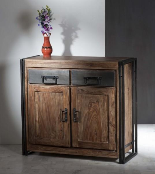 Mangoholz Möbel Kommode 100x90x40cm Massiv