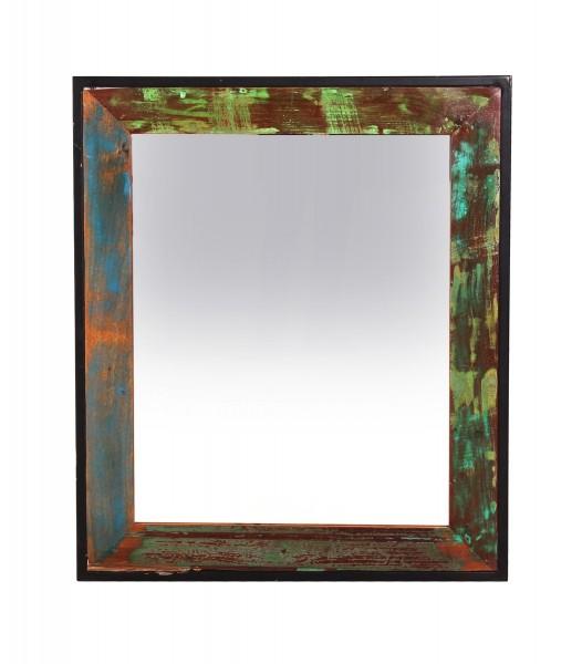 Vintage Massivholz Spiegel 68x79x3cm