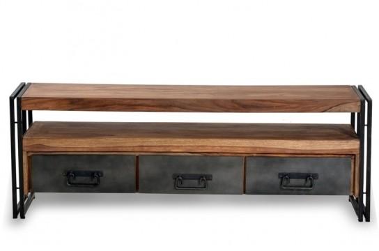 Sheesham Möbel Lowboard 160x55x40cm Massivholz