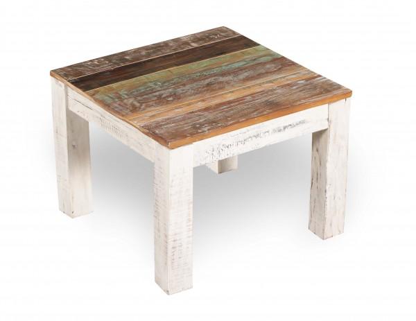 Shabby Chic Möbel Couchtisch 90x45x90cm Massiv