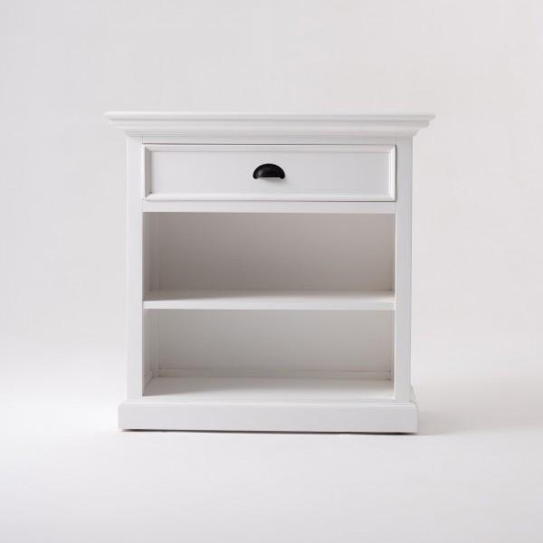 Kommode Sideboard Weiß 81x79x43cm Massiv